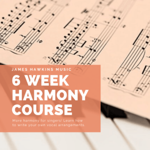 6 week harmony course