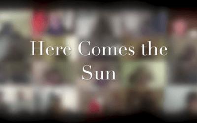 'Here Comes The Sun' virtual choir recording by isoChoir