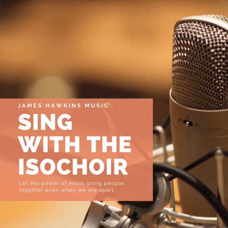 isoChoir: How to make a virtual choir recording