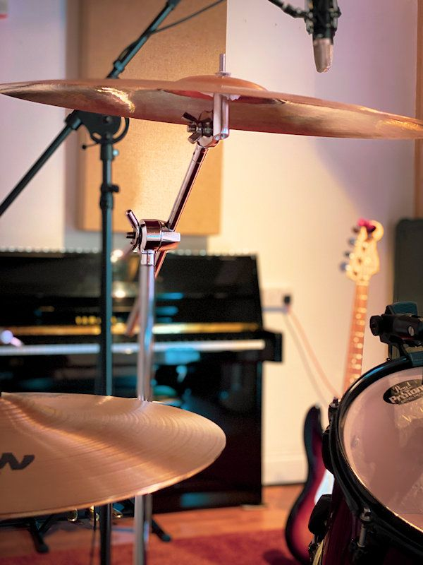 Drum set up