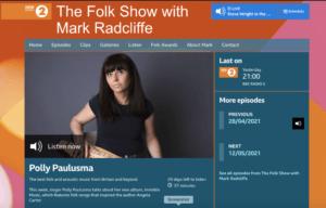 The Folk Show with Mark Radcliffe and Polly Paulusma