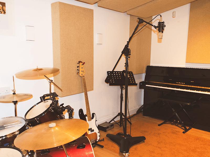 James Hawkins Music recording studio